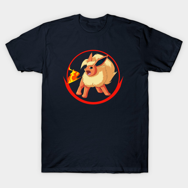 6735c68f Valor Flareon - Pokemon - T-Shirt   TeePublic