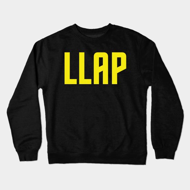 LLAP Star Trek Crewneck Sweatshirt TeePublic