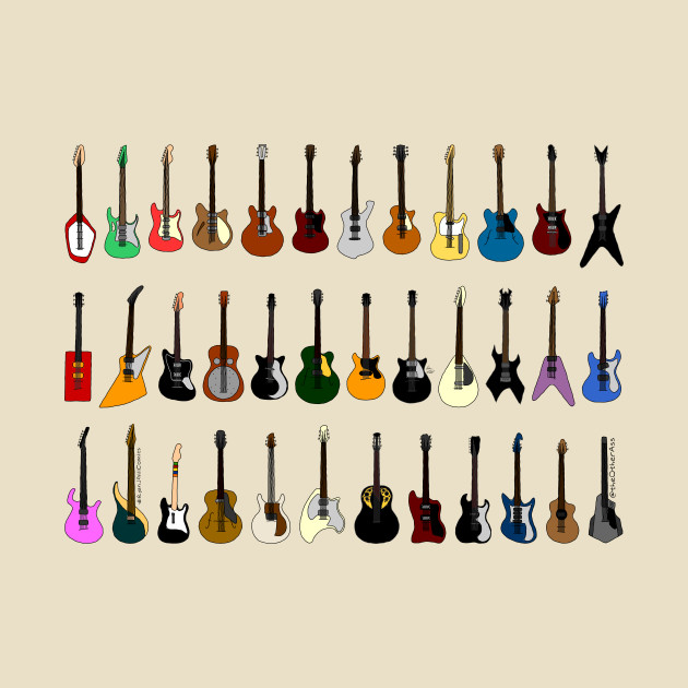 Possibly Famous Guitars