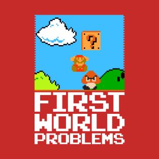 First World Problems t-shirts