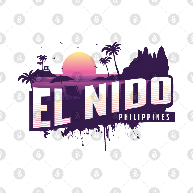 El Nido Philippines Palawan Purple Sunset