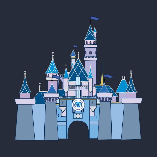 Disneyland 60th castle