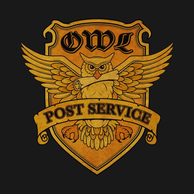 Owl Postal - Harry Potter - Sticker   TeePublic  Harry Potter Owl Service