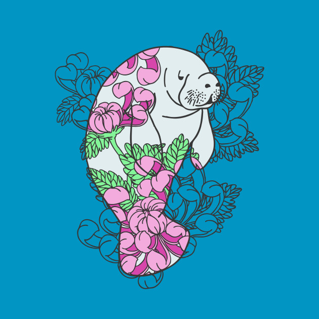 Floral Manatee