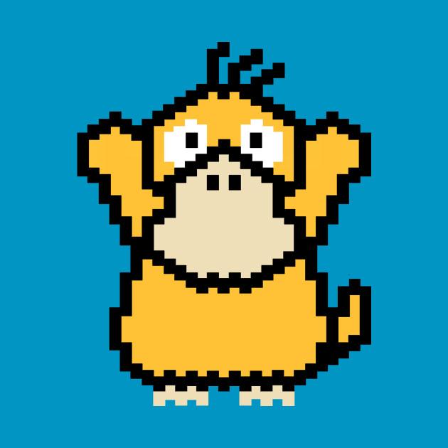 Psyduck / Pokemon (8-bit)