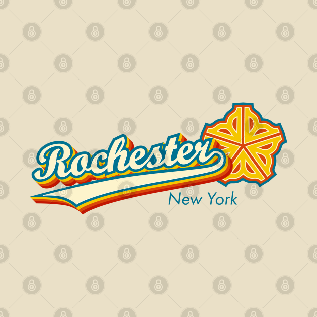 Officially Licensed 1970s Retro Rochester