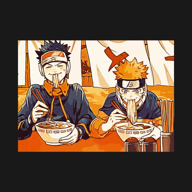 king of ramen obito and naruto