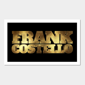 Frank Costello Gold Wall Art