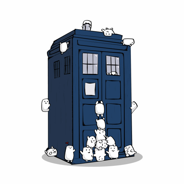 The Adipose Have the Phone Box