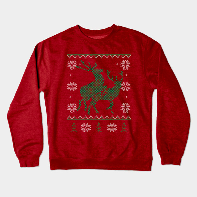 c2101a1593a Reindeer Humping - Ugly Christmas Sweater Style - Ugly Christmas ...