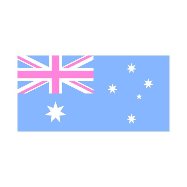 australia flag baby pink australia flag t shirt teepublic