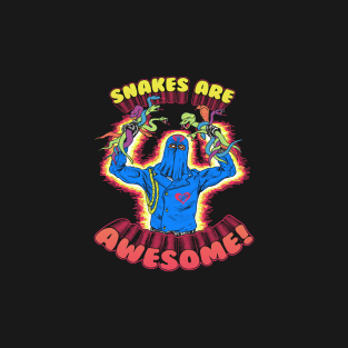 Snakes Are Awesome t-shirts