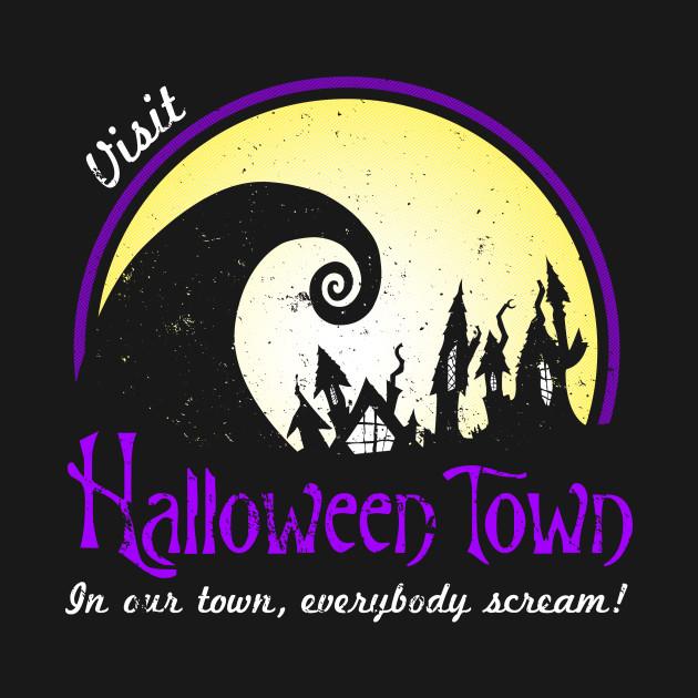 Visit Halloween Town T-Shirt