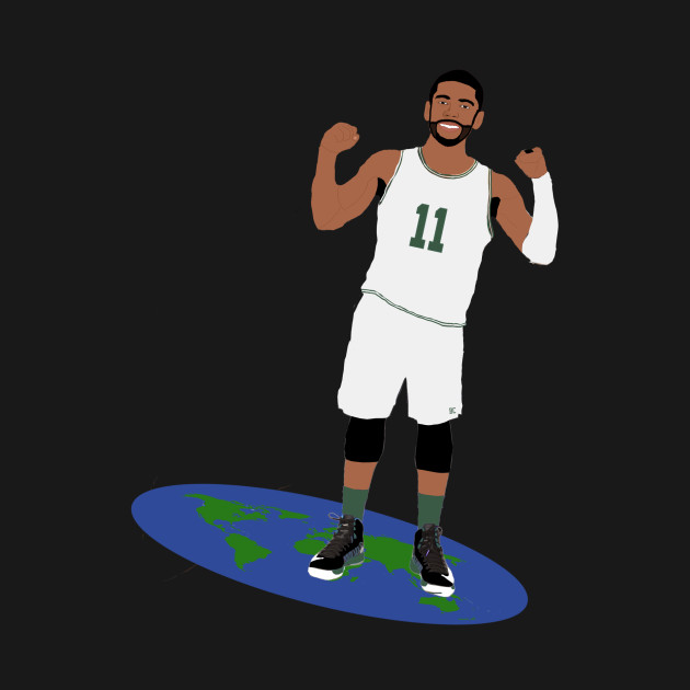 Kyrie Irving Tip the Earth Tee