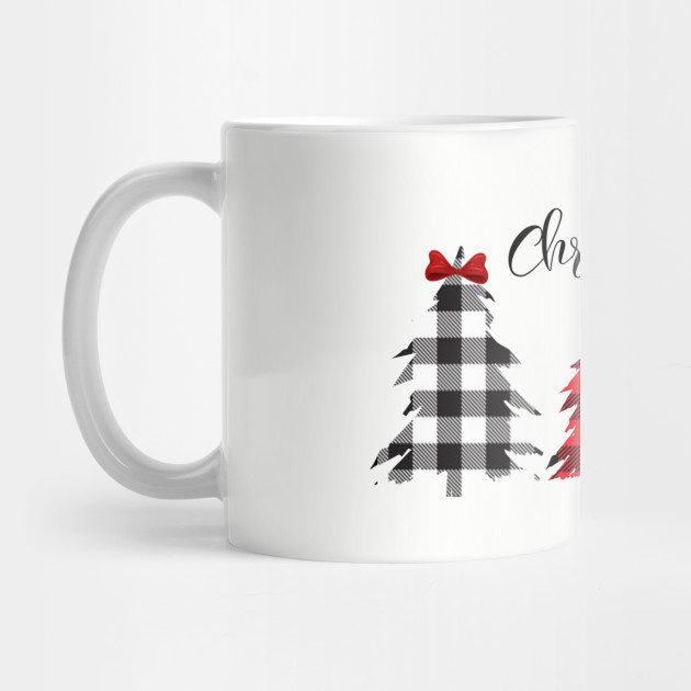 christmas shirt for woman, Cheetah Christmas Shirt, Buffalo Plaid Christmas Shirt, Womens Christmas Shirt, leopard christmas shirt Mug