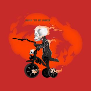 burn to rider