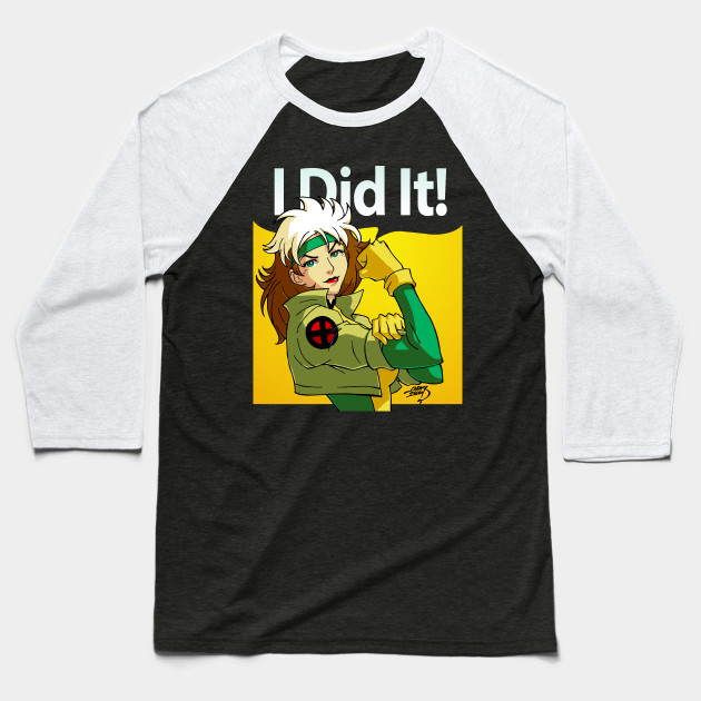 "Rogue ""I Did It!"" Shirt Marvel Vs Capcom 2 X-Men Street Fighter We Can Do It Wolverine Deadpool"