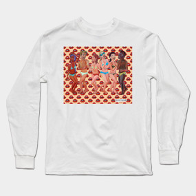 40fc6f86c Beach Party Long Sleeve T-Shirts | TeePublic
