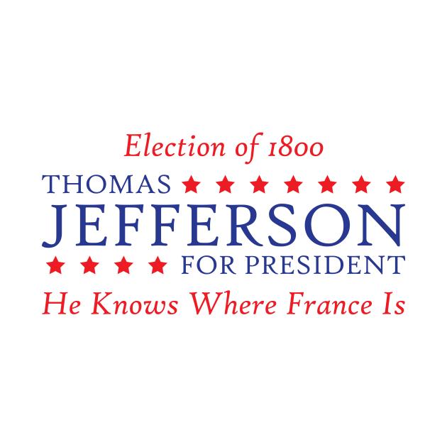 Thomas Jefferson For President - Hamilton - Kids Long ...