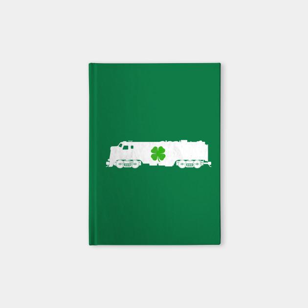Train Shamrock St. Patrick's Day Choo Choo Kids Locomotive Gift