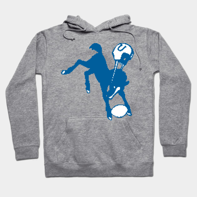 dfa864b9 Indianapolis Colts Retro 8 Bit - Indianapolis Colts - Hoodie | TeePublic