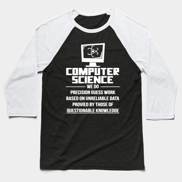 Computer Science Science Baseball T Shirt Teepublic