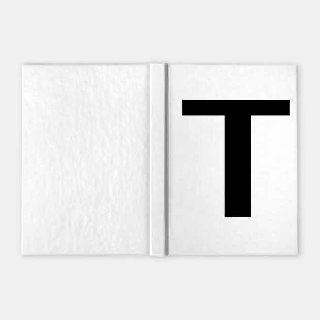 Greek Letter Tau Tau Notebook Teepublic