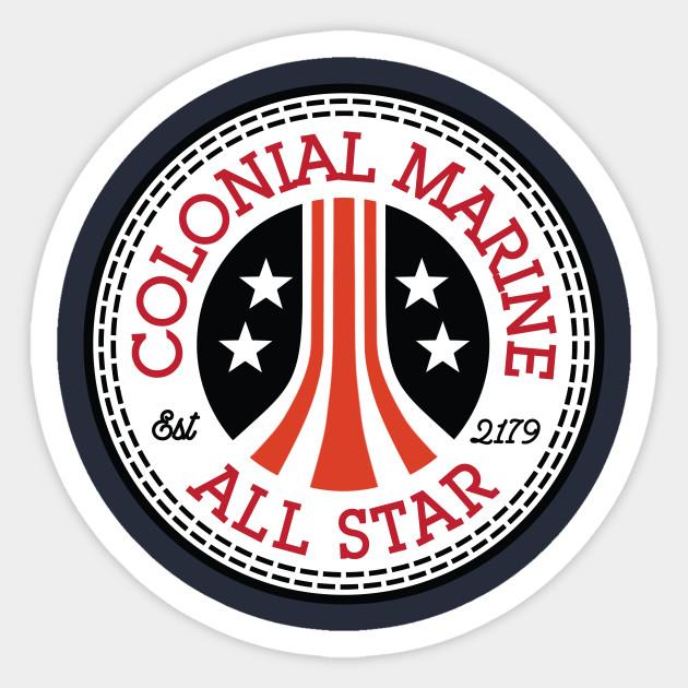 Colonial Marine Alien All Star Converse Logo Converse All Star