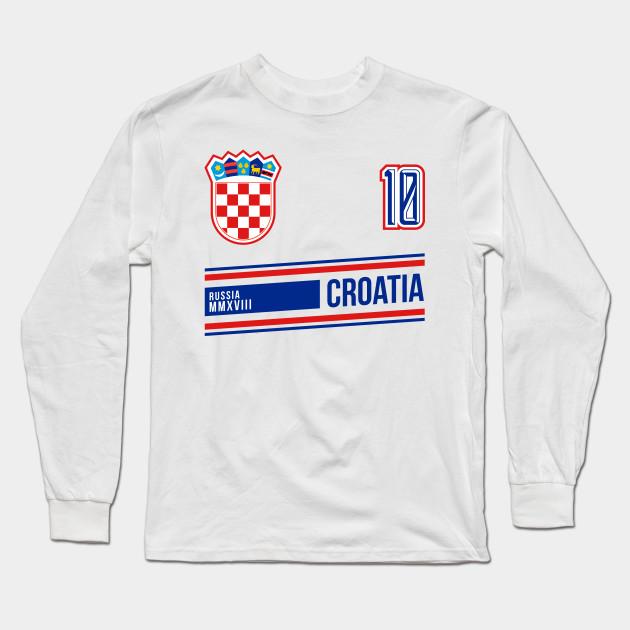 Croatia 2018 World Soccer Football Futbol Jersey Fan - Croatia ... a6bd6beff