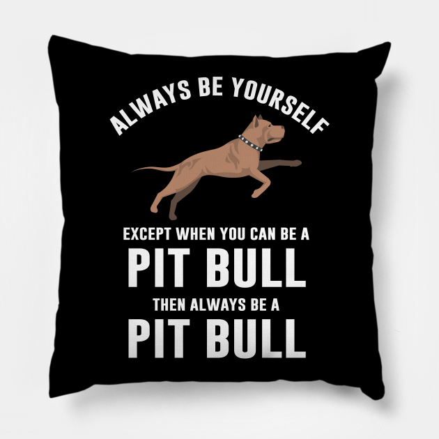 Pit bull dog quote