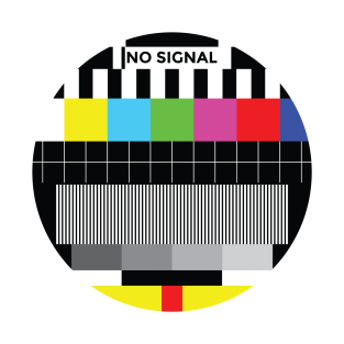 TV Test signal t-shirts