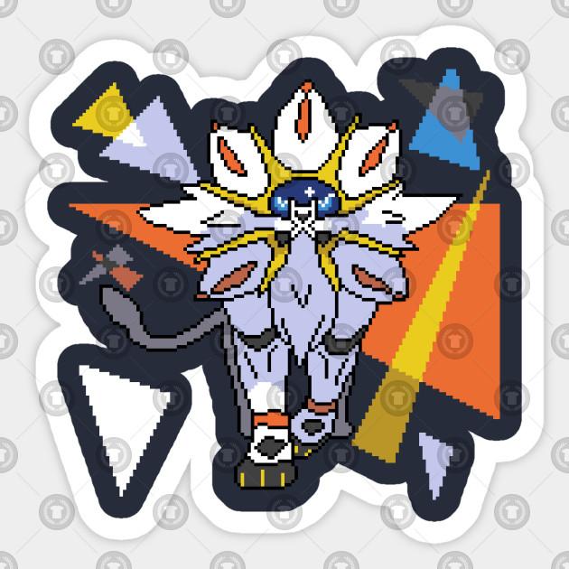 Solgaleo Pikachu Bébé Pixel Art Pokemon