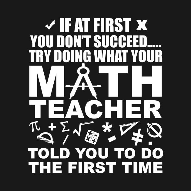 Funny Math Teacher Lover Quotes Gift   Teacher Lover   Mug   TeePublic
