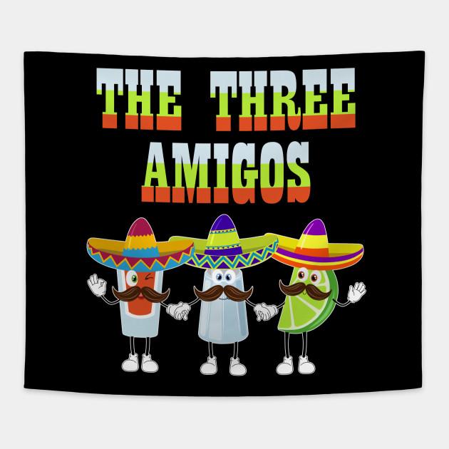 Cinco de Mayo Three Amigos Tequila Salt Lime