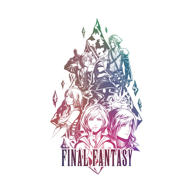 Hail Final Fantasy with logo