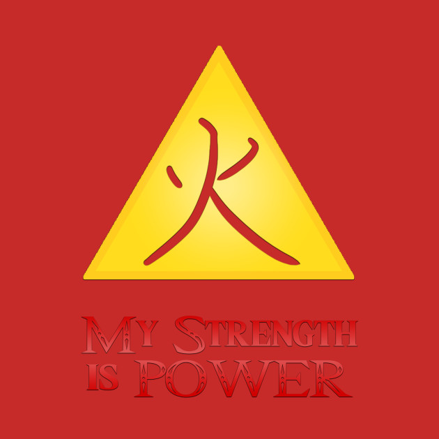 Triforce of Power (Fire)