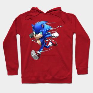 Sonic Hoodies Teepublic