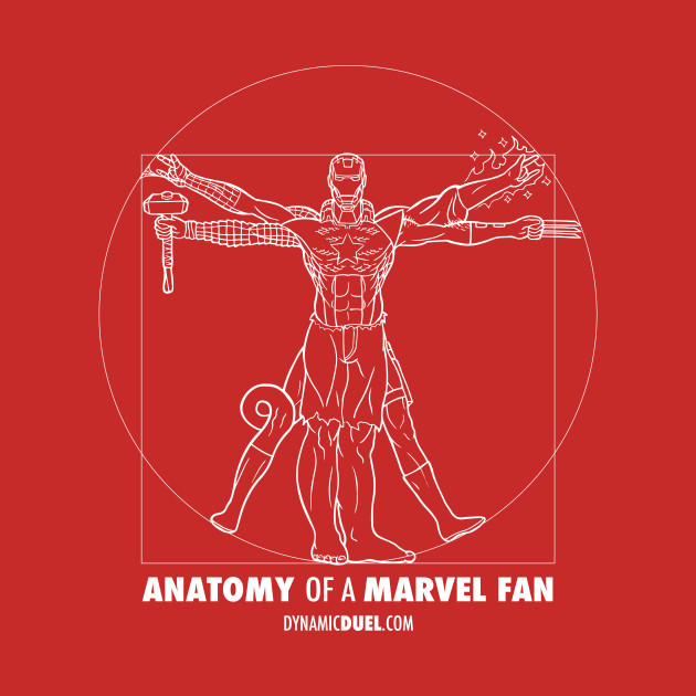 Anatomy of a Marvel Fan (Male)