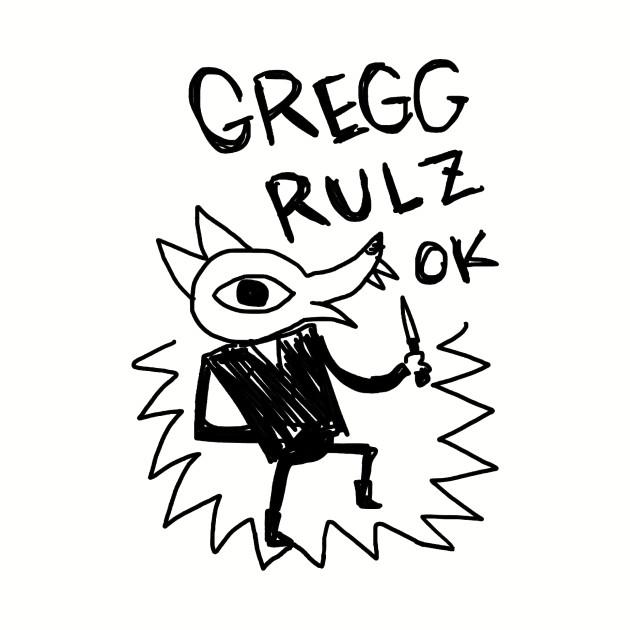 Night In The Woods - Gregg Rulz Ok - Black Clean