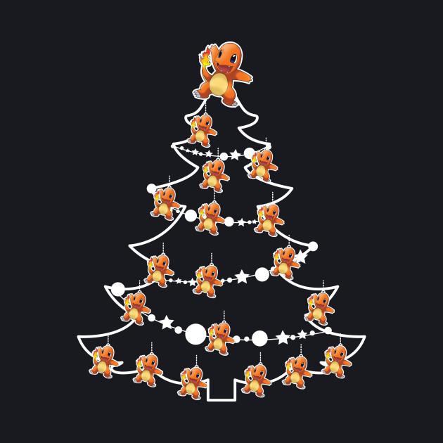3bd7e5e9f ... Pokemon With Tree On Its Back: Charmander Pokemon Christmas Tree Baubles