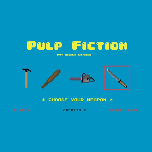 8bit Pulp Fiction