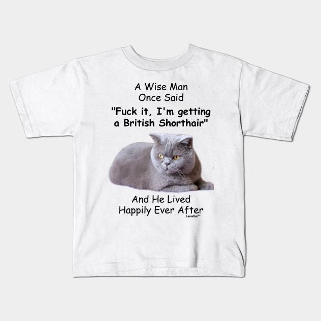 Funny British Shorthair Cat Gift For Men British Shorthair Cat