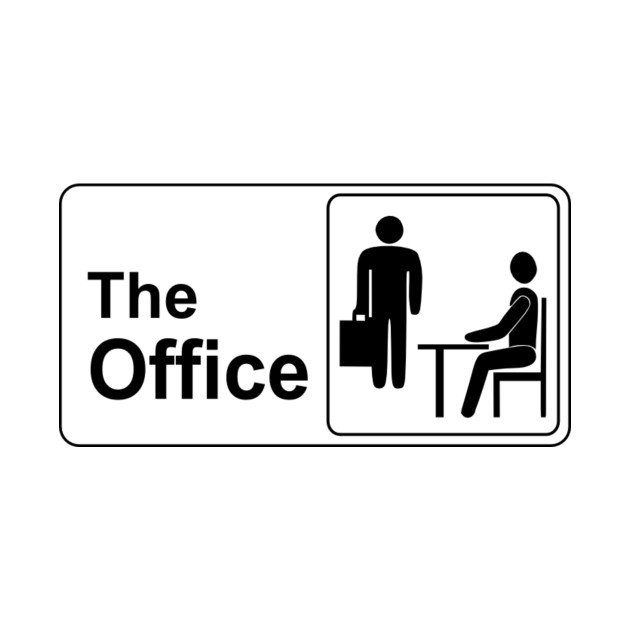The office logo the office t shirt teepublic for Office logo