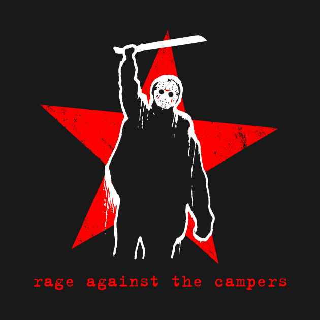 Rage Against The Campers T-Shirt thumbnail
