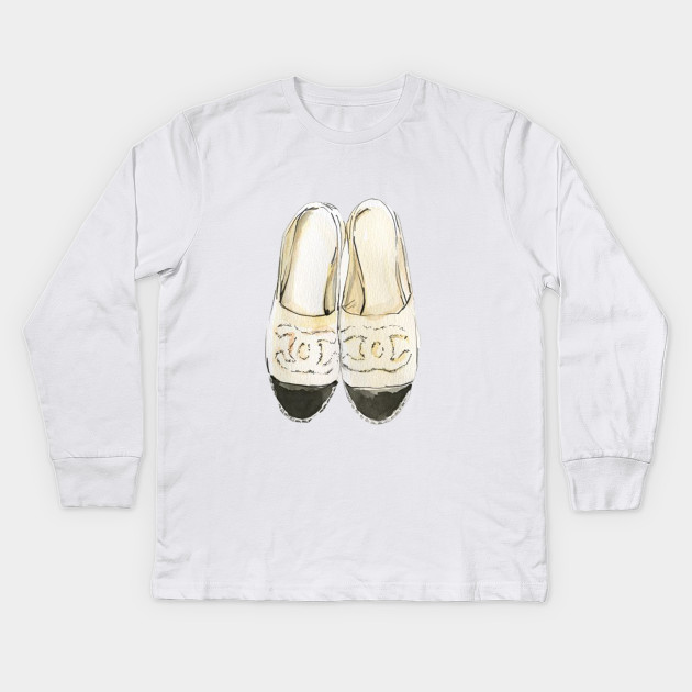 Shoes Whites Shoes Summer Draws Vacation Summer Kids Long Sleeve