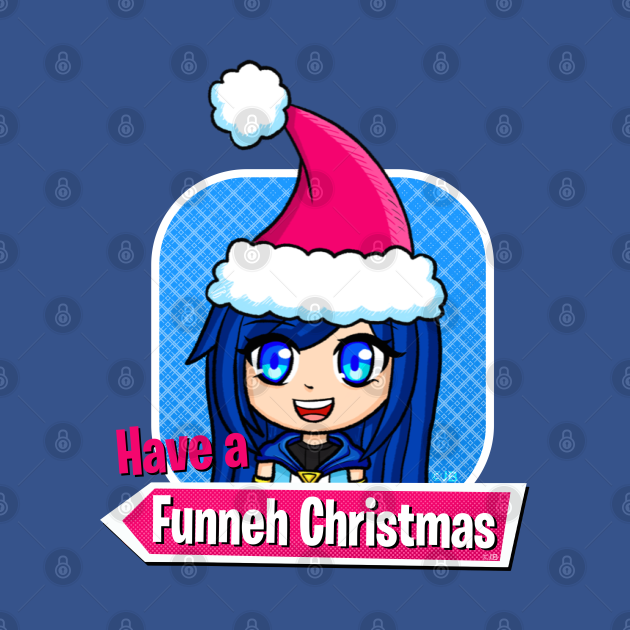 Funneh in a Christmas Hat