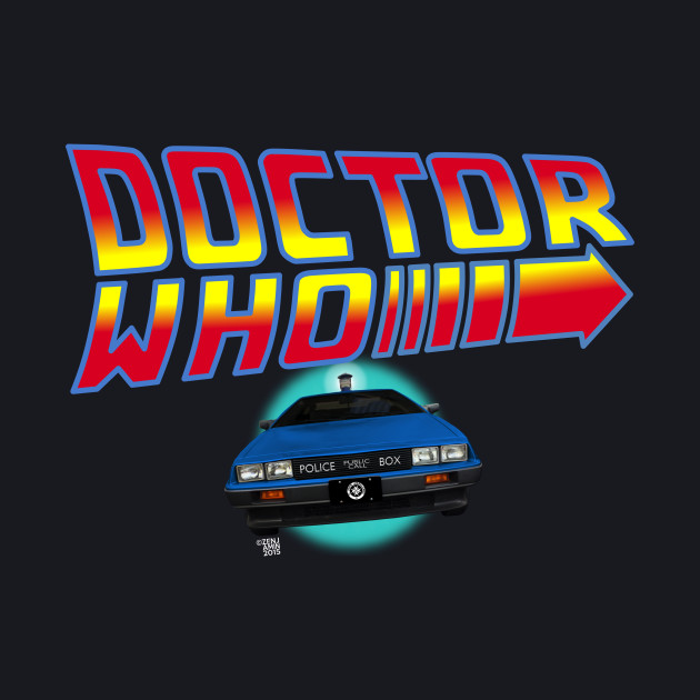 Back to Doctor Who with Type 40 Delorean