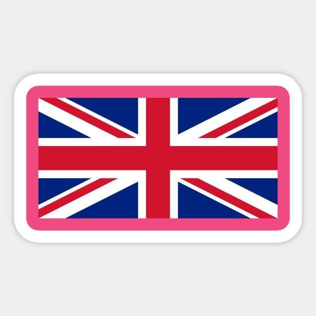Upside Down Union Jack Uk Sticker Teepublic