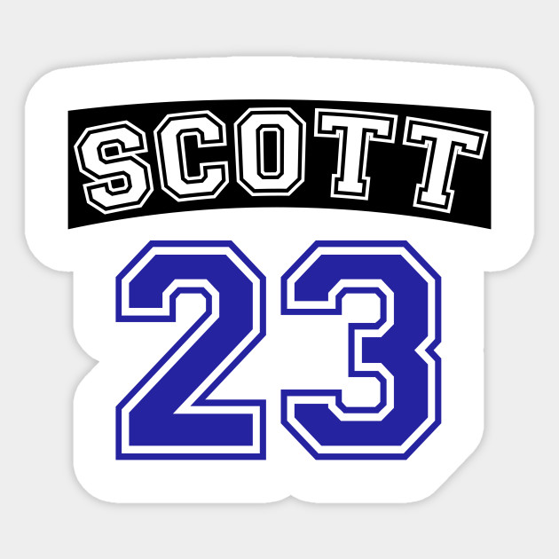 Scott 23 Ravens Basketball Jersey One Tree Hill