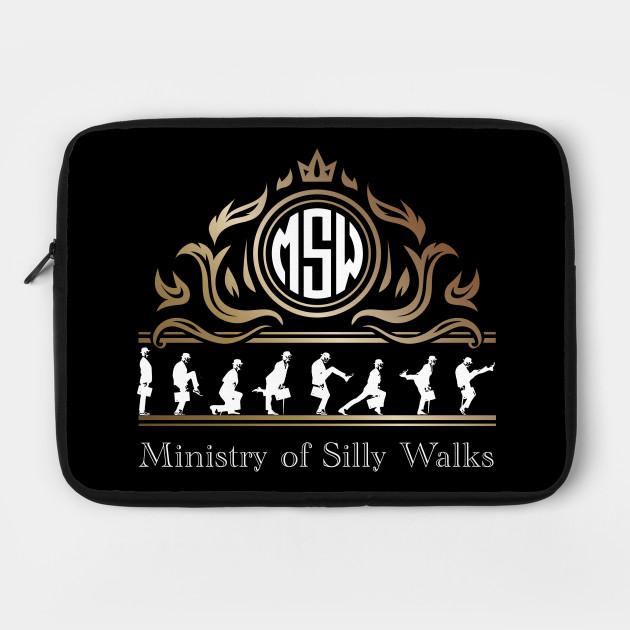 Ministry of Silly Walks Royal Majesty Emblem